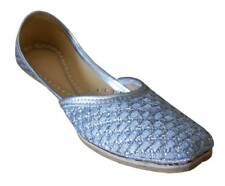 Jutti US 6-10 Indian Bridal Women Shoes Leather Flip-Flops Ballet Flats Handmade