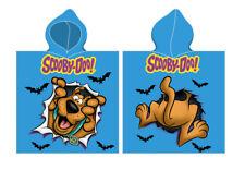 Scooby Doo Poncho Badetuch Handtuch Strandtuch mit Kaputze Scooby-Doo 50x115 cm