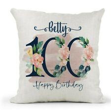 Cojín de fotos personalizado gran regalo de cumpleaños 40cmx 40 Cm Abuela Nan