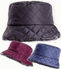 Cappello Cespuglio Sacca Imbottito Impermeabile Pioggia Inverno Donna 99a755b4859f