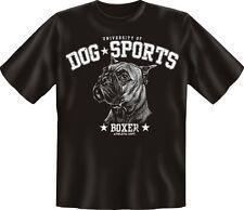 T-Shirt Shirts mit Hund geil bedruckt - Dog Sports - Boxer - Geburtstag Geschenk