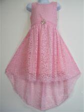 Party Girl Tutu Mariage Princesse robe devant court/long dos 3-14 Ans