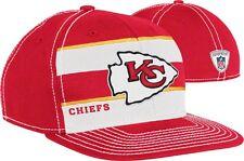 NFL Kansas City Chiefs 2011 Reebok Official Sideline Player Hat Flex Cap L/XL