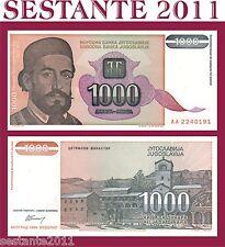 YUGOSLAVIA / JUGOSLAVIA 1.000 1000  DINARA 1994   P  140     FDS / UNC