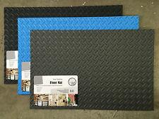 EVA floor mat 70 x 45 cm set of 2 blue grey garage kitchen mats New flooring