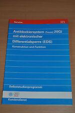 Selbststudienprogramm SSP 171 VW ABS 20 Gi mit elektronischer Differentialsperre