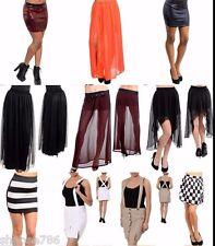 Lot 10 Skirts Skorts Mini Maxi Sexy Pencil Tiered Boho Casual Rave S M L XL