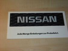 17450) Nissan Micra Sunny Stanza 300 ZX Prospekt 1985
