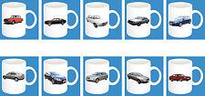 300ml Keramik Becher mit Motiv: Audi Auto Modelle Kaffee Tasse Car 11oz