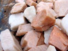 1pc natural rough pink moonstone crystal gemstone rock love healing women gift