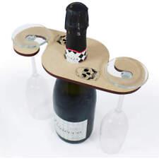 'Human Skull' Wine Glass / Bottle Holders (GH024707)