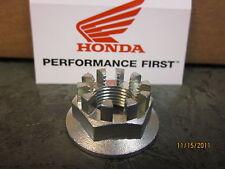 Genuine Honda Rear Wheel Hub Axle Nut TRX250EX TRX300EX TRX400EX 1993 2014 L@@K