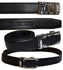 Men's belt, Leather Dress Belt, Auto Lock belt, strap Quick lock belt New buckle
