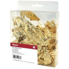 Deco-Metall-Flocken, Karton 1g, Schlagmetall