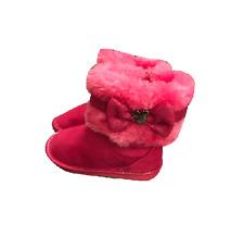 Disney Toddler Girls Pink Boots