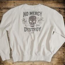 """DYSTROY PREMIUM Herren SWEATSHIRT """"NO MERCY"""" / Regular Fit"""