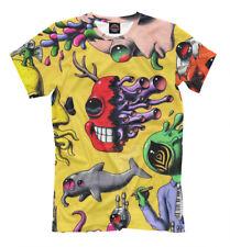 psychedelic NEW t-shirt esoterics yoga meditation Hallucinations cool designe HQ