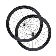 D411SB D412SB Disc Brake 50mm Tubular Clincher Tubeless Carbon Bicycle Wheels