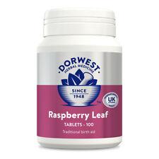 Dorwest Raspberry Leaf Tablets, 100's, 200's 500's Herbal Medicine