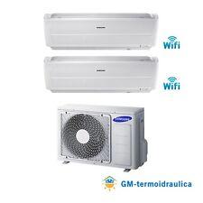 Condizionatore Climatizzatore Inverter Samsung Windfree Dual Split Wi-Fi A++ 40