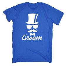 Funny T Shirt - Groom Moustache Wedding Stag Do - Birthday Joke tee T-SHIRT