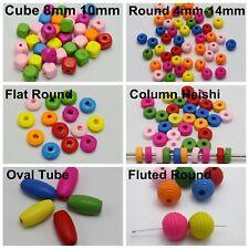 400 abalorios madera dados perlas madera madera cubo azul DIY beads cadenas pulsera 8mm
