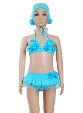 Cinda 3 piezas Bikini Atardecer rosa, azul from 2-3 to 6-7 AÑOS