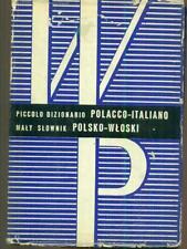 PICCOLO DIZIONARIO POLACCO -ITALIANO  SOJA - ZAWADZKI WIEDZA POWSZECHNA 1968