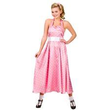 Ladies 1950s BOPPER GIRL Rock n Roll Dancer Fancy Dress Costume UK Sizes 6-24