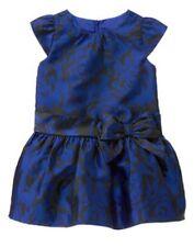 NWT Gymboree Best in Blue Floral Jacquard Dress 12 18 24 mo 2T 3T 4T 5T