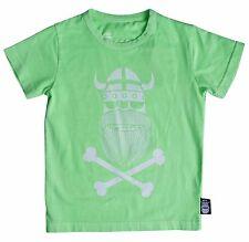 DANEFAE T-Shirt Ghost of Eric neon grün fluo green Wikinger 104 116 128 134 140