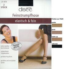 ELASTISCH+FEIN  2 Strumpfhosen, transparent - 20den, div.Fbn.+Gr.  *disee*