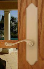 FPL Piedmont Passage Door Lever Set & Back Plates; Closet Hallway Bedroom Doors