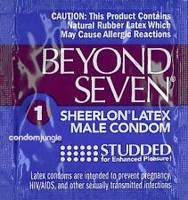 Okamoto Beyond Seven Studded Condoms - Choose Quantity