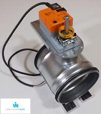 Absperrklappe DTBU 80 - 250 mm dicht Wickelfalzrohr Absperr Klappe Belimo LM230A