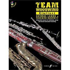 Team Woodwind Clarinet (Book/CD) - Same Day 1st Class P+P