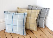 Mull Check Herringbone Weave 16in x 16in Cushion Covers