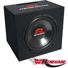 RENEGADE RXV-1200 Basskiste Bass-Reflex System Subwoofer Bass Woofer 500Watt