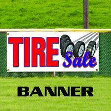Tire Sale Auto Body Shop Car Truck SUV Repair Retail Store Vinyl Banner Sign