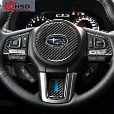 Carbon Fiber Steering Wheel Sticker For Subaru Forester 2016 -2018