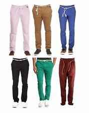 Eleven Paris Hombre Algodón Ajustado Chinos Pantalones