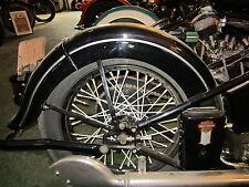 Harley Knucklehead UL WL 45  Rear Fender Trim 1939 To 1948