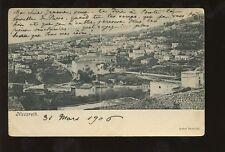 PALESTINE NAZARETH 1906 UB PPC TOWN VIEW