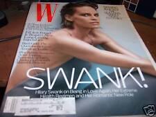 W Magazine 1/2008 Hilary Swank