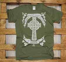 Maglia J367 Celtic Cross Croce celtica Irish T-shirt Gaelic traditional tee