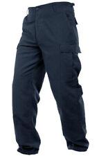 Mil-Tec Mens RIPSTOP Army Combat BDU CARGO PANTS Field Trousers Navy Blue