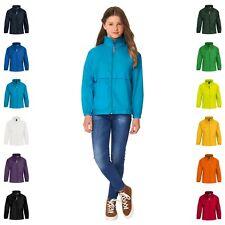 Kids Child Light Packaway Kagoul Rain Coat Jacket Mac Kagool Cagoule Windproof