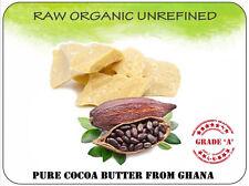 Cocoa Butter 100% Natural Raw Organic Unrefined Pure DIY skincare body cream