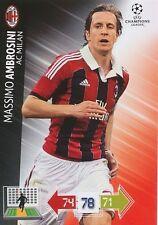 AMBROSINI # ITALIA MILAN.AC CHAMPIONS LEAGUE TRADING CARDS 2013
