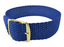 Minott > Durchzugsband 12mm Perlon blau > wasserfest > gleichlaufend